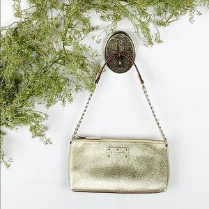 Kate Spade Byrd Wellesley Gold Shoulder Bag